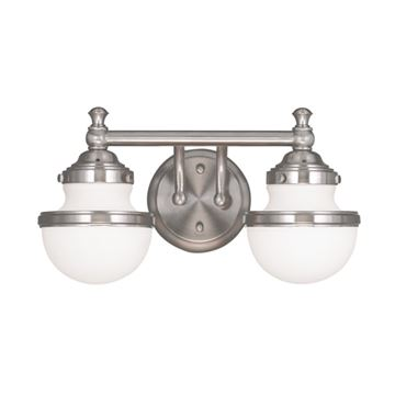Livex Lighting Oldwick 2 Light Vanity Light