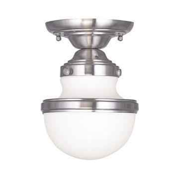 Livex Lighting Oldwick 5 1/2 Inch Flush Ceiling Light