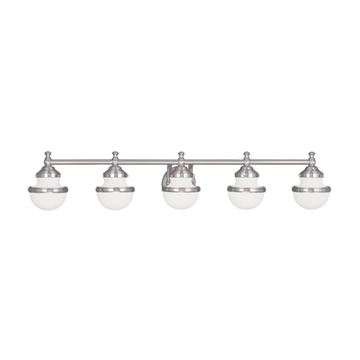 Livex Lighting Oldwick 5 Light Vanity Light