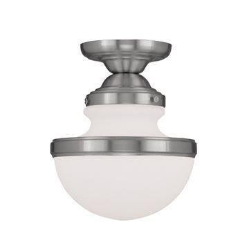 Livex Lighting Oldwick 8 Inch Flush Ceiling Light