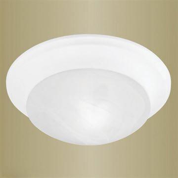 Livex Lighting Omega 9 1/2 Inch Flush Ceiling Light