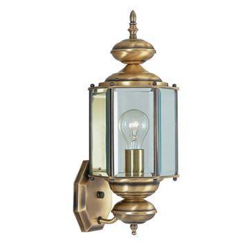 Livex Lighting Outdoor Basics Hex Outdoor Wall Lantern