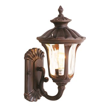 Livex Lighting Oxford 15 1/2 Inch Outdoor Wall Sconce