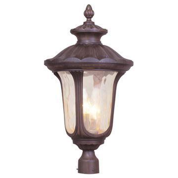 Livex Lighting Oxford 26 1/2 Inch Outdoor Post Head Light