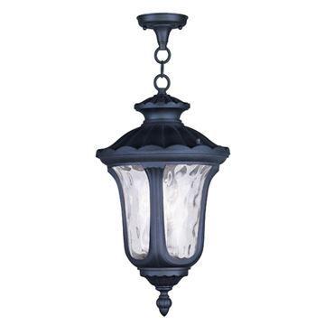 Livex Lighting Oxford Outdoor 20 1/2 Inch Chain Hang Light