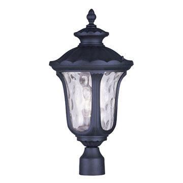 Livex Lighting Oxford Outdoor 22 Inch Post Head Light