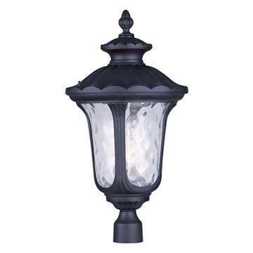 Livex Lighting Oxford Outdoor 26 1/2 Inch Post Head Light