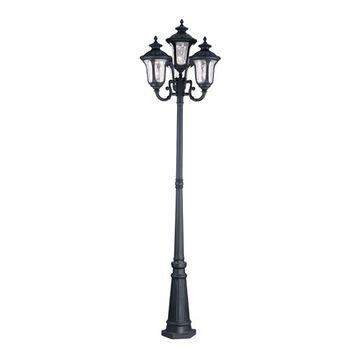 Livex Lighting Oxford Outdoor 4 Head Light Post