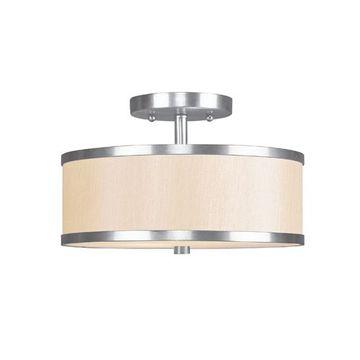 Livex Lighting Park Ridge 11 Inch Semi Flush Light