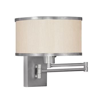Livex Lighting Park Ridge Swing Arm Wall Lamp