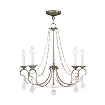 Livex Lighting Pennington 5 Light Chandelier