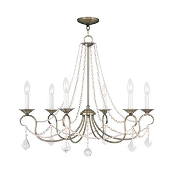 Livex Lighting Pennington 6 Light Chandelier