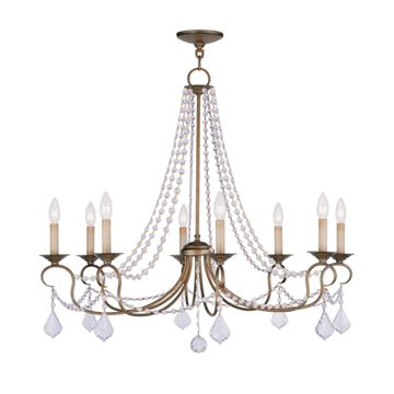 Livex Lighting Pennington 8 Light Chandelier