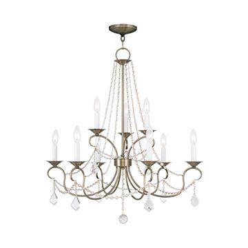 Livex Lighting Pennington 9 Light Chandelier