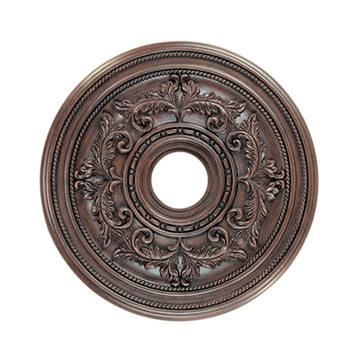 Livex Lighting Prefinished 18 Inch Ceiling Medallion