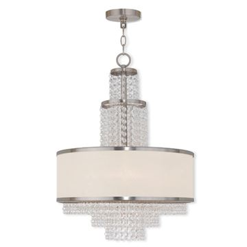Livex Lighting Prescott 5 Light 24 Inch Chandelier