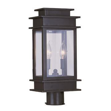 Livex Lighting Princeton Outdoor 16 3/4 Inch Post Head Light