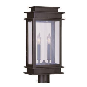 Livex Lighting Princeton Outdoor 20 1/2 Inch Post Head Light
