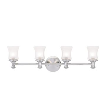 Livex Lighting Randolph 4 Light Vanity Light