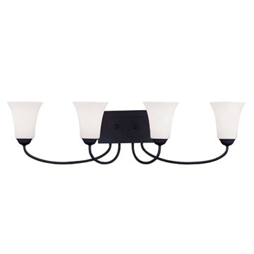 Livex Lighting Ridgedale 4 Light Vanity Light