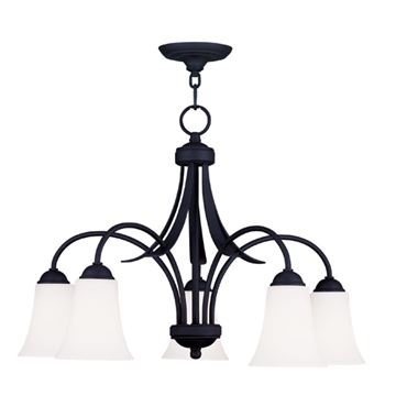 Livex Lighting Ridgedale 5 Light 17 3/4 Inch Chandelier