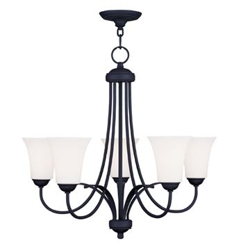 Livex Lighting Ridgedale 5 Light 22 Inch Chandelier