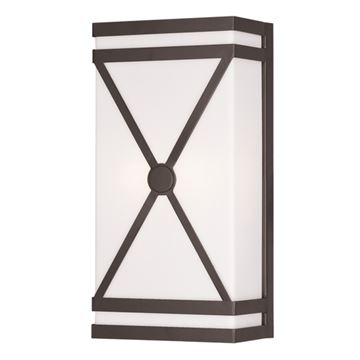Livex Lighting Satin Acrylic 14 Inch Wall Sconce