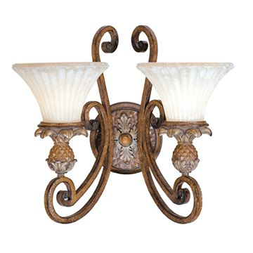 Livex Lighting Savannah 2 Light Wall Sconce