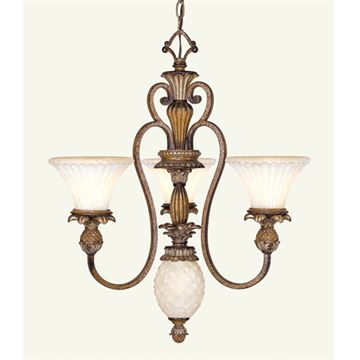 Livex Lighting Savannah 3 Light Chandelier