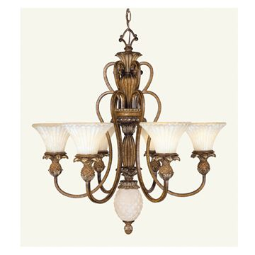 Livex Lighting Savannah 6 Light Chandelier
