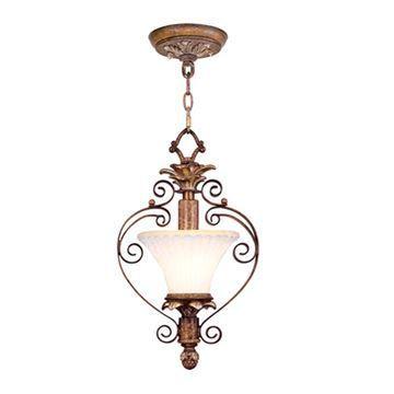Livex Lighting Savannah Convertible Chain or Semi Flush Light