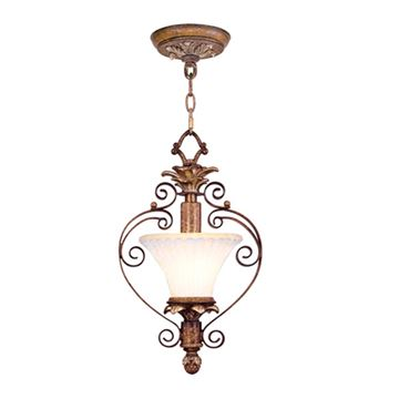 Livex Lighting Savannah Convertible Chain or Semi Flush Light