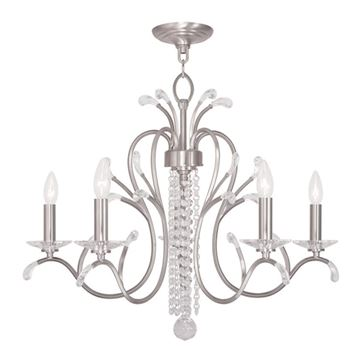 Livex Lighting Serafina 5 Light Chandelier