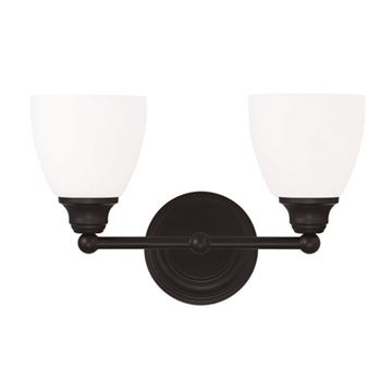 Livex Lighting Somerville 2 Light Straight Vanity Light