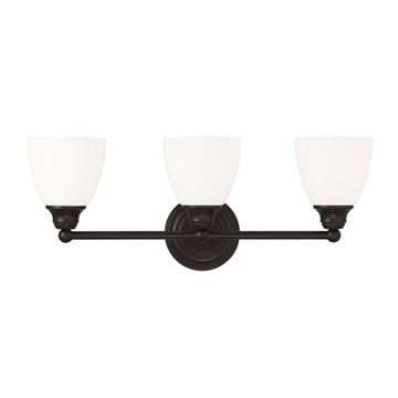 Livex Lighting Somerville 3 Light Straight Vanity Light