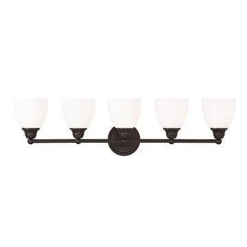 Livex Lighting Somerville 5 Light Vanity Light