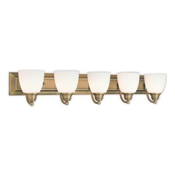 Livex Lighting Springfield 5 Light Vanity Light