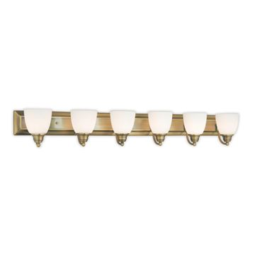 Livex Lighting Springfield 6 Light Vanity Light