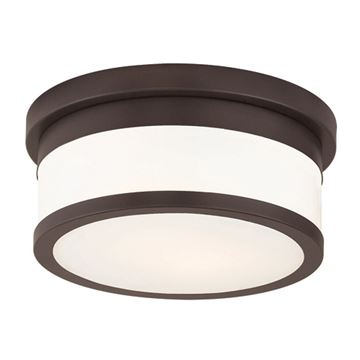 Livex Lighting Stafford 10 Inch Flush Ceiling Light