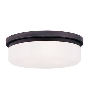 Livex Lighting Stratus 15 1/2 Inch Flush Ceiling Or Wall Mount Light