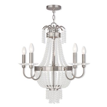 Livex Lighting Valentina 5 Light Chandelier