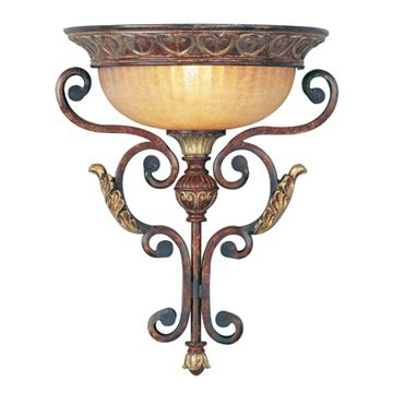 Livex Lighting Villa Verona 17 Inch Wall Sconce