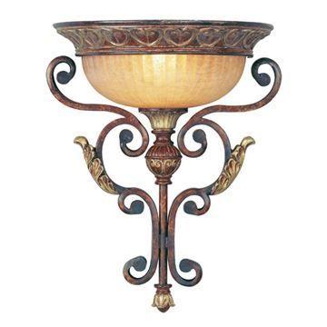Livex Lighting Villa Verona 17 Inch Wall Sconce