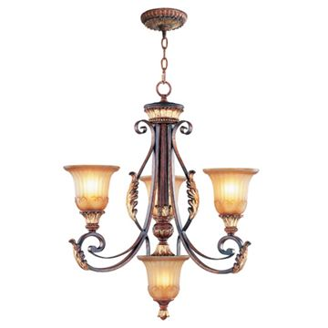 Livex Lighting Villa Verona 3 Light 24 1/4 Inch Chandelier