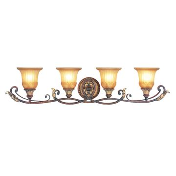 Livex Lighting Villa Verona 4 Light Vanity Light