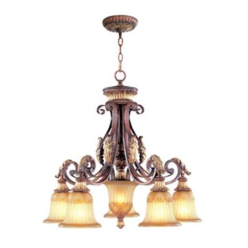 Livex Lighting Villa Verona 5 Light 27 Inch Chandelier