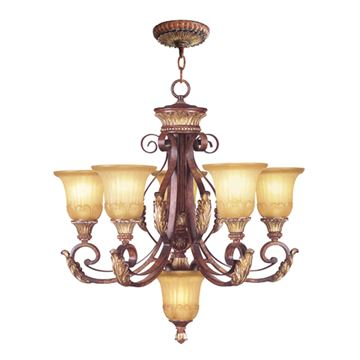 Livex Lighting Villa Verona 5 Light Chandelier