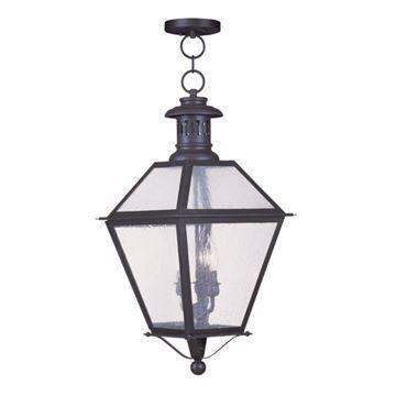 Livex Lighting Waldwick Outdoor 12 1/2 Inch Chain Hang Light