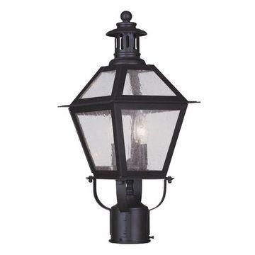 Livex Lighting Waldwick Outdoor 2 Light Post Head Light