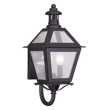 Livex Lighting Waldwick Outdoor 2 Light Wall Lantern
